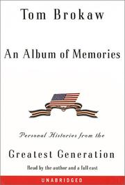 Cover of: An Album of Memories (Tom Brokaw)