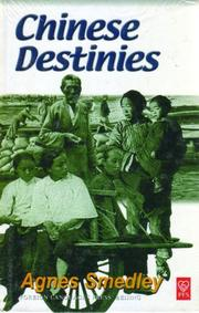 Cover of: Chinese destinies