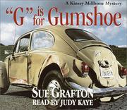 Cover of: G is for Gumshoe (Sue Grafton)