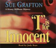 Cover of: I is for Innocent (Sue Grafton)