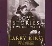 Cover of: Love Stories of World War II | Larry King