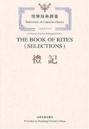 Cover of: The Book of Rites (Selections)