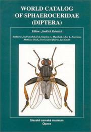 World Catalog of Sphaeroceridae Diptera