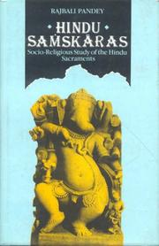 Cover of: Hindu Samskaras