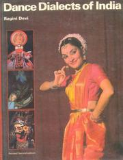 Cover of: Dance Dialects of India | Ragini Devi.