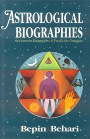 Cover of: Astrological Biographies