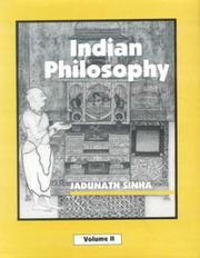Cover of: Indian Philosophy (set of 3 vols.)