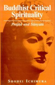 Cover of: Buddhist critical spirituality