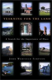 Cover of: Yearning for the Land
