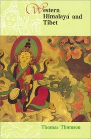 Cover of: Western Himalaya and Tibet