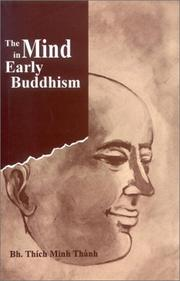 Cover of: The Mind in Early Buddhism | Thich Minh Thanh