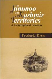 The Jummoo and Kashmir territories by Frederic Drew