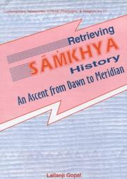 Cover of: Retrieving Sāṁkhya history
