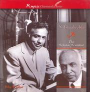 Cover of: S. Chandrasekhar