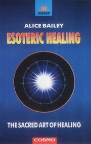 Cover of: Esoteric Healing
