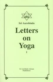 Cover of: Letters on Yoga, Vol.I