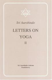 Cover of: Letters on Yoga, Vol.II