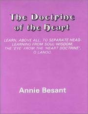 Cover of: The doctrine of the heart: extracts from Hindu letters
