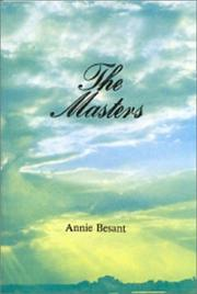 Cover of: The Masters
