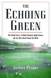 Cover of: The Echoing Green