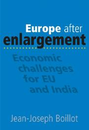 Cover of: Europe after Enlargement