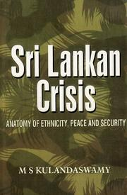 Cover of: Sri Lankan crisis