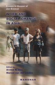 Cover of: Work and social change in Asia