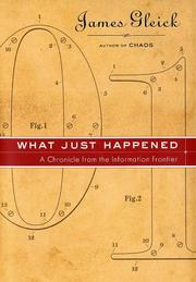 Cover of: What Just Happened | James Gleick