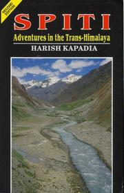 Cover of: Spiti