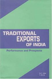 Cover of: Traditional exports of India | John, K. C. commerce lecturer.
