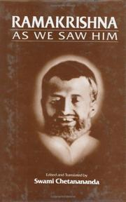Cover of: Ramakrishna As We Saw Him