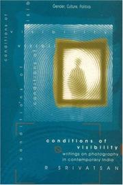 Cover of: Conditions of visibility