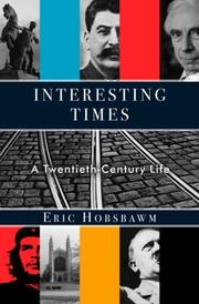 Cover of: Interesting times: a twentieth-century life