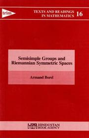 Cover of: Semi-Simple Groups and Symmetric Spaces