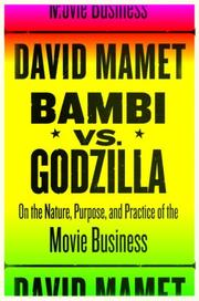 Cover of: Bambi vs. Godzilla | David Mamet