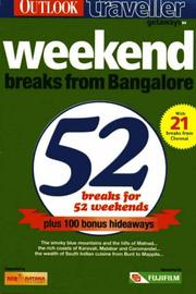 Cover of: Weekend breaks from Bangalore. |