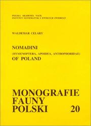 Cover of: Nomadini (Hymenoptera, Apoidea, Anthophoridae) of Poland