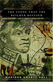 Cover of: The stone that the builder refused
