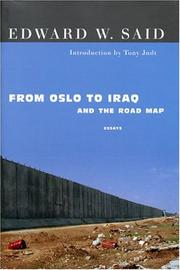 Cover of: From Oslo to Iraq and the roadmap: Essays