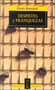 Cover of: Despistes Y Franquezas (Alfaguara Bolsillo)