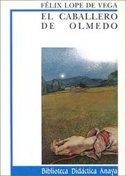 Cover of: El Caballero De Olmedo