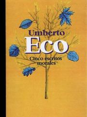 Cover of: Cinco Escritos Morales