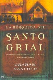 Cover of: La Busqueda Del Santo Grial (Mr Dimensiones)
