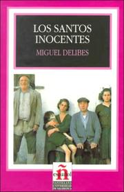 Cover of: Los Santos Inocentes/the Innocent Saints
