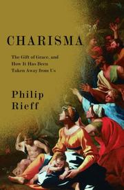 Cover of: Charisma | Philip Rieff