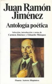 Cover of: Antologia Poetica (Autores hispanicos)