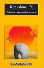 Cover of: Cartas a Los Anos de Nostalgia