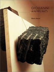 Cover of: Giovanni Anselmo | Giovanni Anselmo