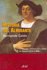 Cover of: Historia del Almirante