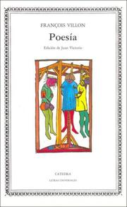 Cover of: Poesia - Francois Villon